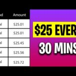 Make $25 Every 30 Minutes FOR UPLOADING PHOTOS (Make Money Online For Beginners)