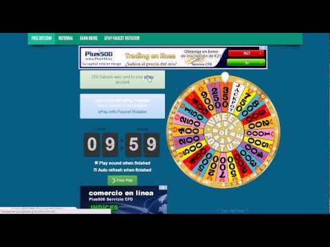 Spin&winOnline - от 100 до 1 000 satoshi Bitcoin каждые 10 минут!!
