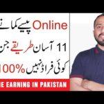 11 Realistic Ways to Make Money online in Pakistan    Online Earning in Pakistan    online jobs