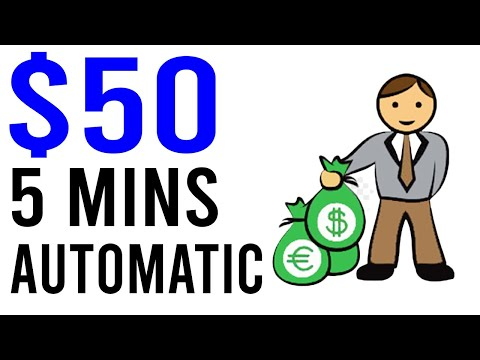 Earn $50 Every 5 Mins AUTOMATICALLY!! [Easy Way to Make Money Online]