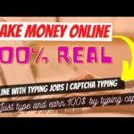 How to Make Money Online With Typing Jobs | Online Captcha Entry Jobs 100$ Earning