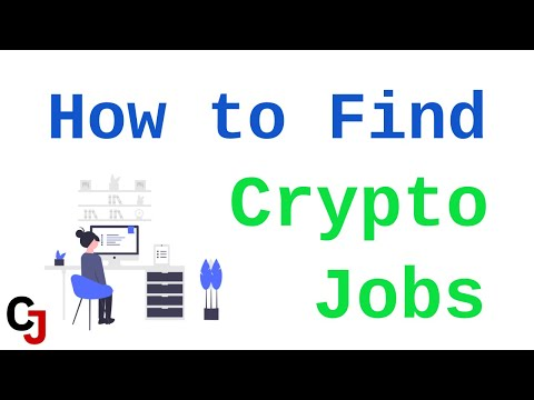 How to Find Crypto Jobs (Sites and Tips)