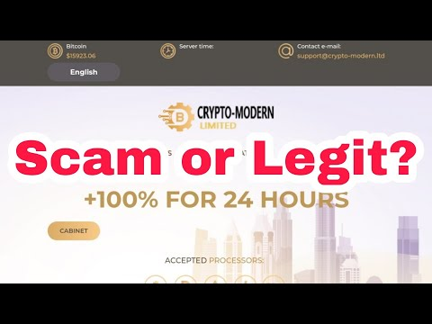 Crypto-Modern.Ltd Legit or Scam? New Crypto Doubler Site | Full Review