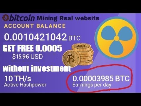 new Bitcoin Mining site Paar  Day 0.00049537 Earning  without investment