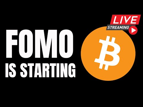 Bitcoin FOMO is Starting // $18000 Soon