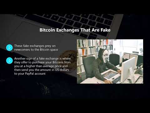 Lesson 7 - Avoid Bitcoin and Cryptocurrency Scams