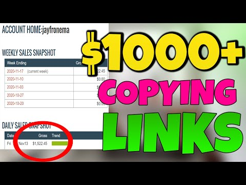 Earn $1,522.45 Copying This SPECIAL Link (Make Money Online 2020)