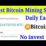 🔥New Best Bitcoin Mining Site 2020 Daily 2500 Satoshi No investment 💯