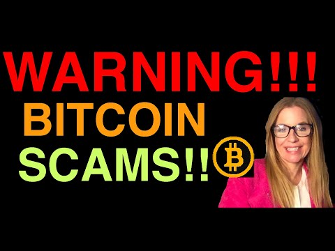!!!WARNING!!! BITCOIN SCAMS!! ~how to spot a scam!