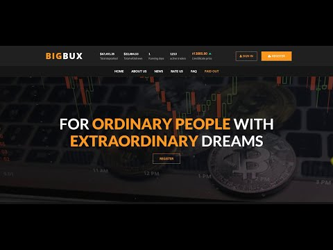 NEW FREE BITCOIN  MINING SITE BIGBUX 2020 LEGIT BITCOIN EARNING SITE  MAKE MONEY ONLINE