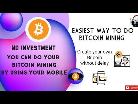 Easiest Way To Do Bitcoin Mining by using your Mobile!! #Bitcoin Mining Link ⬇️