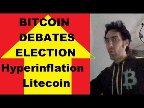 Bitcoin debate is freedom! NO Dollar Hyperinflation! Litecoin Velvet Fork, Golden age jobs! Q&A!