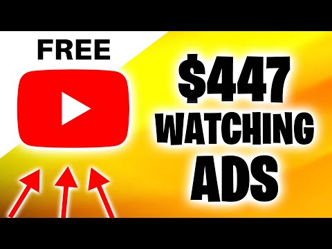 EARN $447 PER DAY FOR WATCHING ADS (Make Money Online)