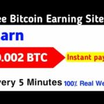 New Biggest Bitcoin Mining Site | Instantly Payout | Earn 0.02 on every 5 minutes | Live withdrawal