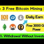 Top 3 Cryptocurrency Mining Site 2020 | Scam or Legit | Bitcoin mining site 2020 | Make money online