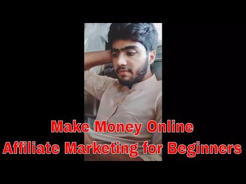 Make Money Online - Affiliate Marketing for Beginners