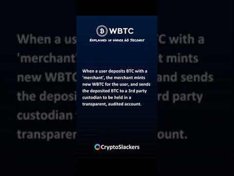 Wrapped Bitcoin (WBTC) Explained in Under 60 Seconds #shorts