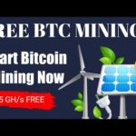 New Bitcoin Mining Website   Free 35 GH/s For Mining   #BitcoinCloudMining