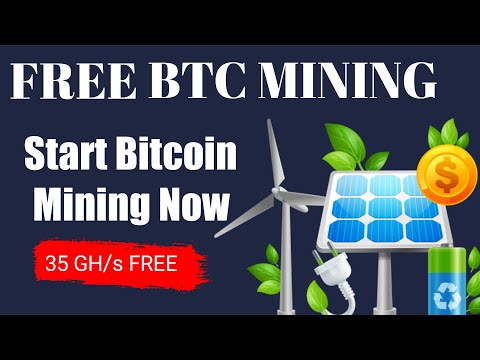 New Bitcoin Mining Website | Free 35 GH/s For Mining | #BitcoinCloudMining