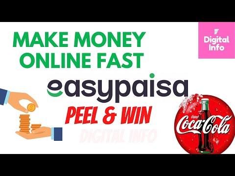 Easypaisa App Make Money Online Fast   Easypaisa Peel & win Campaign   Get Money Fast Online
