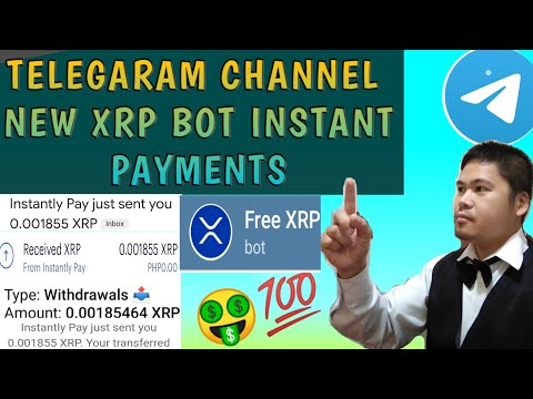 How to Earn money Online using new xrp telegaram bot (instant payments)live Payout