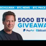 PayPal News | Dan Schulman: Cryptocurrency Integration Bitcoin BTC Price forecast
