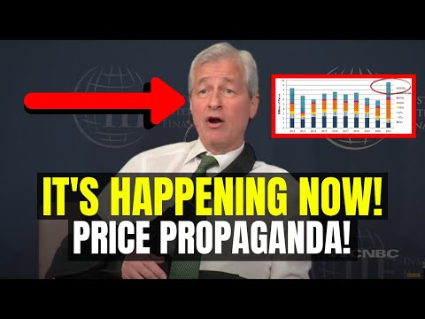 Ripple XRP PRICE PROPAGANDA!!! It's HAPPENING RIGHT NOW!   Jamie Diamon Bitcoin News