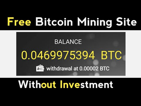 New Free Bitcoin Mining Site | New Free Bitcoin Earning Site | Without Investment | Payment Proof
