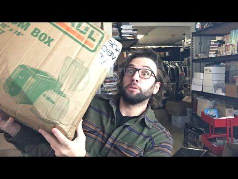 Make Money Online! Opening a Goodwill MYSTERY Liquidation Box from HairyTornado!