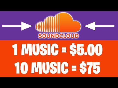 EARN $75 PER HOUR LISTENING TO SOUNDCLOUD MUSIC [Make Money Online]
