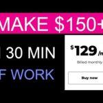 Make $150 in 30 min Over & Over Again ( Make Money Online )