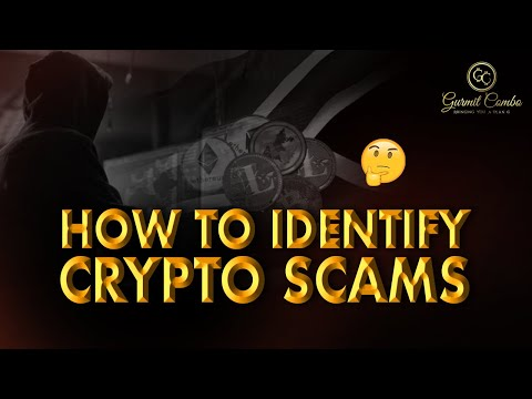 How To Identify Crypto Scams!
