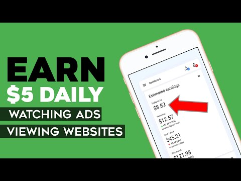How To Make Money Online By Watching Ads & Viewing Websites