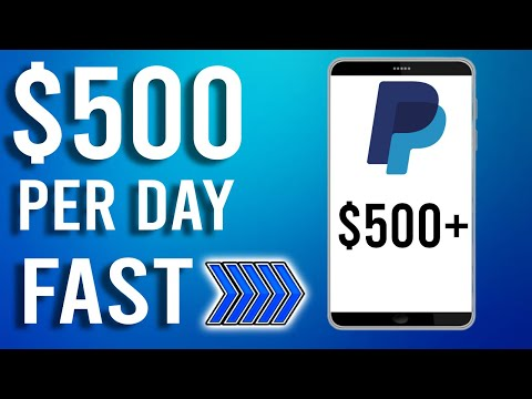 Earn $500 Per Day Fast Now!! [Easy Way to Make Money Online]