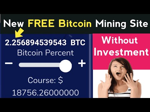 New Free Bitcoin Mining Site 2020 | Free Mining Site, Without Investment, Bitcoin, Bitcoin News, BTC