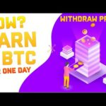 Bitcoin Mining Website   MINE 1 BTC PER ONE DAY   Payment Proof