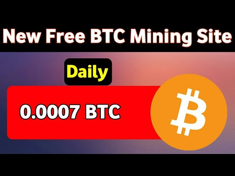 New Bitcoin Mining Site 2020   Earn BTC Daily   Bitcoin Mining   Bitcoin Earning site
