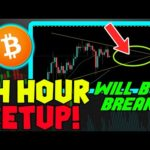 NEXT 24 HOURS CRUCIAL FOR BITCOIN. MUST SEE SHORT TERM CHART!