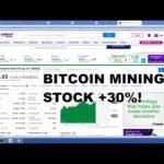 Bitcoin mining stock MARA UP 30%! Low cap legit BTC mining OPP on Nasdaq