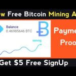 New Free Bitcoin Mining App   Free Bitcoin Earning App   Without Investment, Bitcoin, Bitcoin News