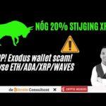 LET OP! Exodus wallet scam! Stijgt XRP nog 20%? | + Analyse BTC.D/ETH/ADA/XRP/WAVES