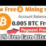 Free earn bitcoin mining site 2020 ! Earn daily BTC  Live peyment proof 0,00054 BTC ! USD GIVEAWAY