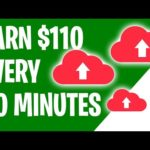 Earn $110 Every 30 Minutes For CLICKS (Make Money Online)