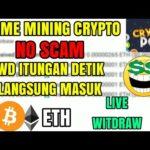🔴 Live witdraw | Aplikasi pengasil bitcoin ETH no scam | Mining Crypto | Witdraw cepat | Earn Money