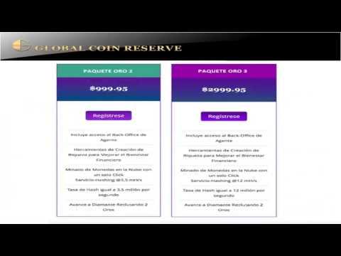 56. Global Coin Reserve – Promoción de Enero!!!