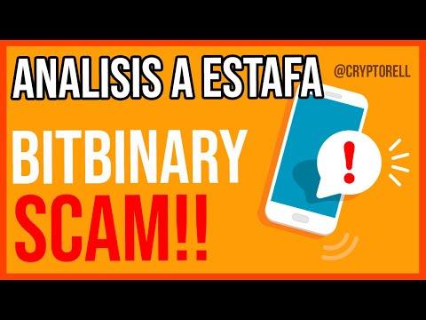 BitBinary es un SCAM   PRUEBA DE ESTAFA DE INVERSION CON BITCOIN