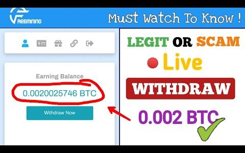 FREEMINING.CO – PAYING OR SCAM  0.002 BTC LIVE WITHDRAW | BITCOIN MINING WEBSITE |