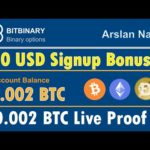 BitBinary - Get Free Trade Bots Free Signup Bonus Legit Or Scam Live Proof 0.002 BTC Urdu Hindi
