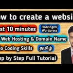 How To Create Website And Earn Money In Tamil | Earn Money Online In Tamil | Online Business Tamil