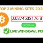 OMG!! New Free Bitcoin Mining Sites 2020 ll Mine Free Bitcoin 2O2O ll New Longterm Mining Site